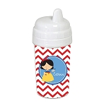 Chevron Snow Princess 10 oz. Custom Spill Proof Sippy Cup