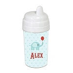Circus Elephant 10 oz. Custom Spill Proof Sippy Cup