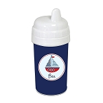 Sailboat 10 oz. Custom Spill Proof Sippy Cup