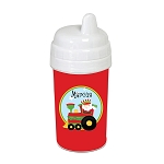 Santa Train 10 oz. Custom Spill Proof Sippy Cup