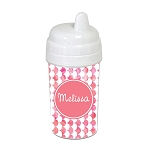 Watercolor Waves 10 oz. Custom Spill Proof Sippy Cup