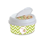 Butterfly 12 oz. Snap Lid Snack Container