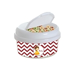 Chevron Belle 12 oz. Snap Lid Snack Container