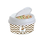 Chevron Cowboy 12 oz. Snap Lid Snack Container