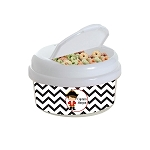 Chevron Pirate 12 oz. Snap Lid Snack Container