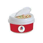 Helicopter 12 oz. Snap Lid Snack Container
