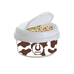Horseshoe 12 oz. Snap Lid Snack Container