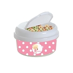 Ice Cream Girl 12 oz. Snap Lid Snack Container