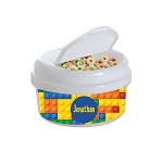 Building Blocks 12 oz. Snap Lid Snack Container