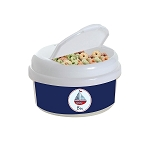 Sailboat 12 oz. Snap Lid Snack Container