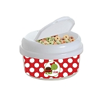 Turtle Hearts 12 oz. Snap Lid Snack Container