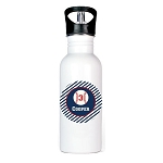 Baseball Personalized Aluminum Flip Spout Water Bottle