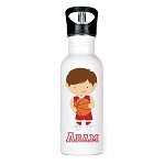 Basketball Player Personalized Aluminum Flip Spout Water Bottle