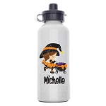 Little Witch Custom Aluminum Water Bottle