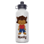 Werewolf Custom Aluminum Water Bottle