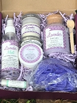 Relax and Unwind Lavender Bath and Body Gift Box Set