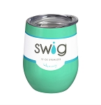 12 oz. SWIG Double-Walled Vacuum Insulated Wine Tumbler- Mint
