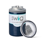 12 oz. SWIG Double-Walled Vacuum Insulated Combo Cooler - Navy