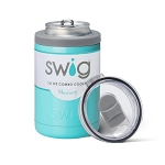 12 oz. SWIG Double-Walled Vacuum Insulated Combo Cooler - Ocean