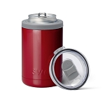 12 oz. SWIG Double-Walled Vacuum Insulated Combo Cooler - Crimson