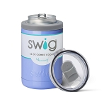 12 oz. SWIG Double-Walled Vacuum Insulated Combo Cooler - Hydrangea