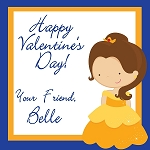 Belle 2 Custom Valentine's Cards