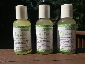 All Natural Sanitizing Hand Gel - 4 scents
