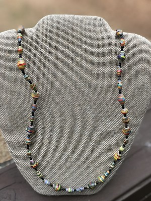Multicolored - Handcrafted Bead Necklace