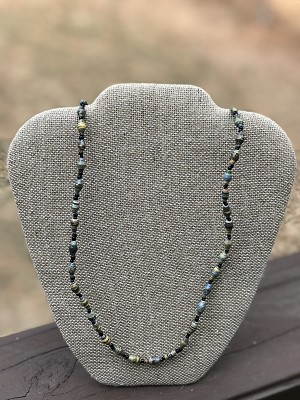 Fall Mix - Handcrafted Bead Necklace