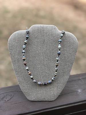 Mixed Fall - Handcrafted Bead Necklace