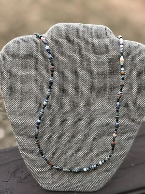 Mixed Fall Blend 2 - Handcrafted Bead Necklace