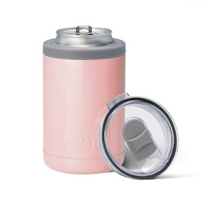 12 oz. SWIG Double-Walled Vacuum Insulated Combo Cooler - Pink