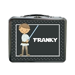 Dotted Galaxy Warrior Inspired Custom Lunch Box