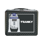 Dotted Galaxy Droid Inspired Custom Lunch Box