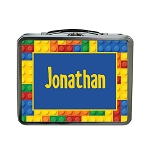 Building Blocks Custom Lunch Box