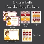 Belle Princess Custom Party Pack