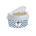 Cheerleader 12 oz. Snap Lid Snack Container