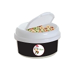 Knight 2 12 oz. Snap Lid Snack Container