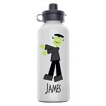 Frankenstein Custom Aluminum Water Bottle